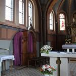 Apsis St Peter & Paul Kirche Heudorf Scheer