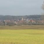 Blick auf Hosskirch