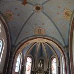 Decke Apsis St Peter & Paul Kirche Heudorf Scheer