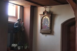 Heiligen Figur St Peter & Paul Kirche Heudorf Scheer