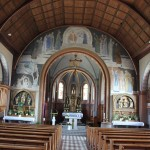 Innen St Peter & Paul Kirche Heudorf Scheer