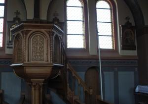 Kanzel St Peter & Paul Kirche Heudorf Scheer
