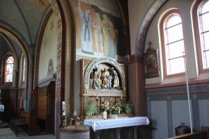 Seitenaltar St Peter & Paul Kirche Heudorf Scheer