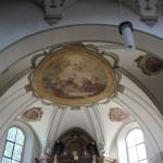 Apsis Deckenbild Kirche Aulendorf