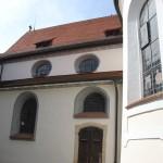 Runde Kirchenfenster Aulendorf