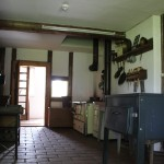 Haus 1 Kueche Museumsdorf Kuernbach