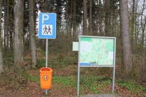 Parkplatz Vorsee-Wegeried