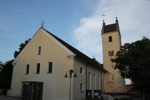 St Laurentiuas Kirche Blitzenreute
