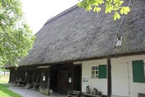 Strohdach Museumsdorf Kuernbach