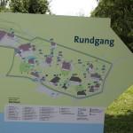 Uebersichtskarte Freilichtmuseum Kuernbach