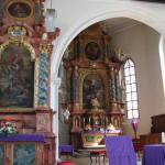 Barocke Altaere Kirche Frickingen