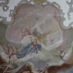 Deckengemaelde Ägidius von St. Gilles oben