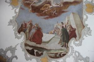 Deckengemaelde Ägidius von St. Gilles unten