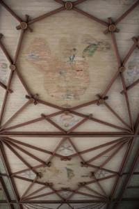 Deckenverzierungern Kirche Frickingen