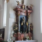 Egidius St Gilles Seitenaltar St Magnus Waldburg