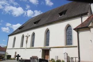 Langhaus Kirche Frickingen
