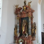 Maria Seitenaltar St Magnus Waldburg