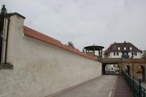 Mauer des Schloss Friedrichshafen