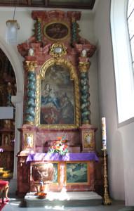Seitenaltar Kirche Frickingen