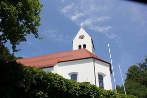 St Magnus Waldburg von unten