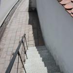 Treppe und Wehrmauer Kirche Frickingen