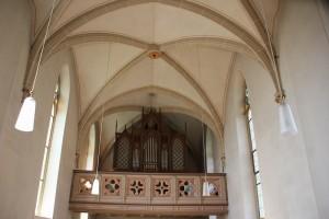 Kirchenorgel Boms