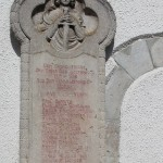 Kriegsdenkmal Boms Kirche