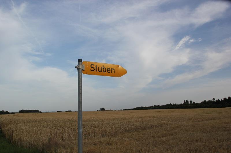 Schild Stuben