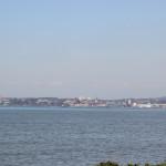 Blick auf Friedrichshafen Strandbad Eriskirch
