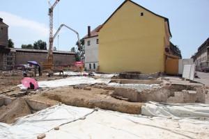 Hofstatt Isny Ausgrabungen