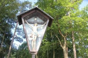 Jesus am Kreuz Klausenhorn