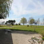 Liegewiese Wegweiser Strandbad Eriskirch