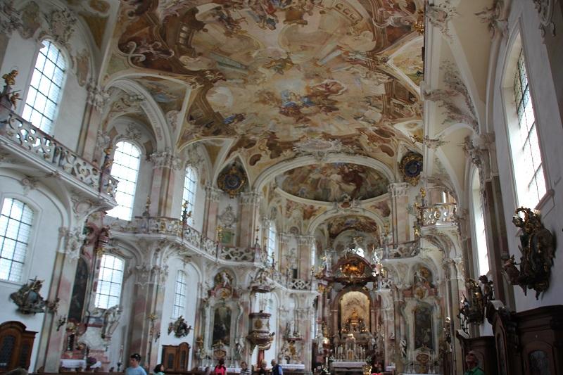 Rokoko Kirche Birnau Innen
