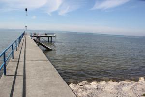 Steg Bodensee Strandbad Eriskirch