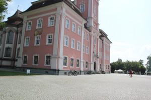 Terrassenplatz vor Kirche Birnau