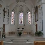 Apsis Kirche Duermentingen
