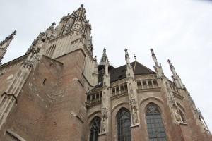Fassade Gotik Muenster Ulm