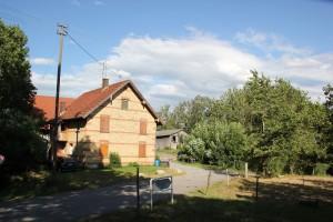 Hof auf Ruine Otterswang