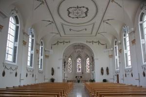 Innenraum Kirche Duermentingen