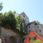 Meersburg Altes Schloss von unten