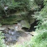 Molasseschichten Felsbaedle Mochenwangen