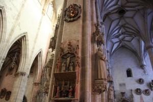 Pfeiler Dekoration Muenster Ulm