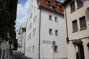 Renaissance Bau Salzstadel Ulm
