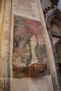 Wandmalerei Muenster Ulm