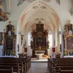 Altaere Kirche Unterschwarzach