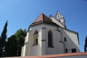 Apsis Kirche Unterschwarzach