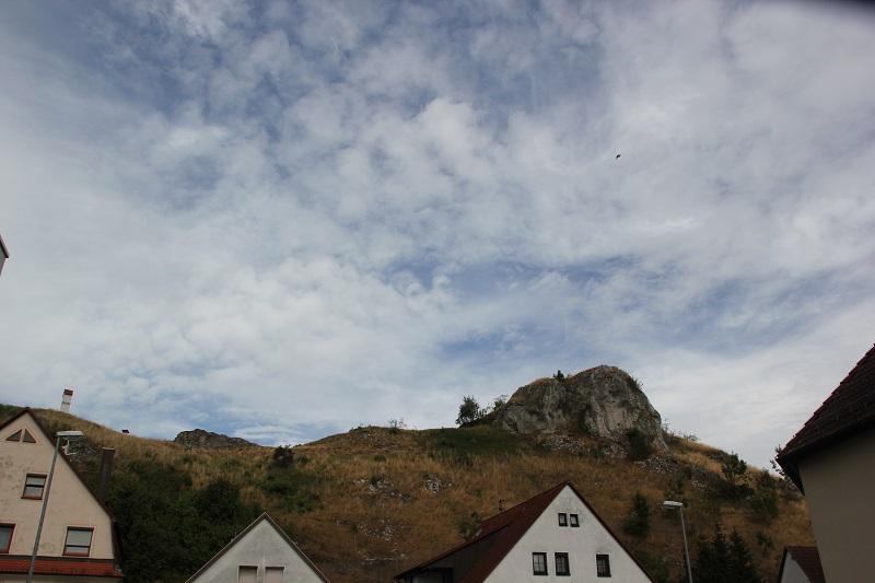 Felsen des Loewenfelsen Blaustein-Ehrenstein