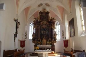 Hochaltar Kirche Unterschwarzach
