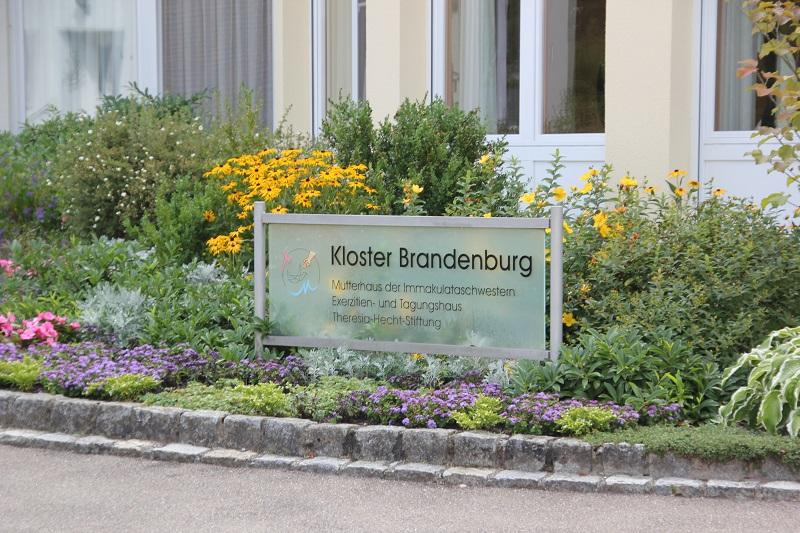 Kloster Brandenburg Schild