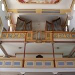 Orgel Kirche Unterschwarzach